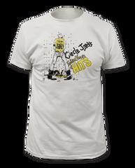 Circle Jerks Golden Shower White Cotton Short Sleeve Adult T-shirt