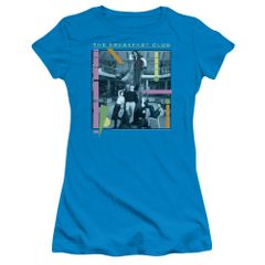 The Breakfast Club Tree Turquoise Short Sleeve Junior T-shirt