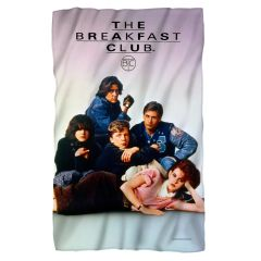 The Breakfast Club Poster Fleece Blanket