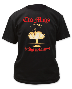 Cro-Mags The Age of Quarrel Black Short Sleeve Adult T-shirt