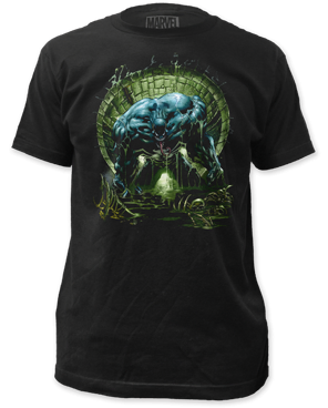 Venom Sewer Black Short Sleeve Adult T-shirt