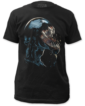 Venom Scream Black Short Sleeve Adult T-shirt