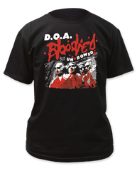 D.O.A Bloody But Unbowed Black Cotton Short Sleeve Adult T-shirt