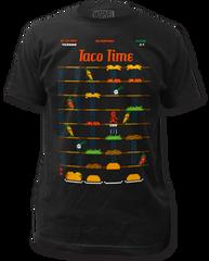 DeadPool Taco Time Black Short Sleeve Adult T-shirt