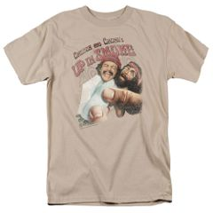 Cheech and Chong Rolled Up Sand Short Sleeve Adult T-shirt