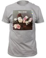 New Order Power Corruption and Lies Silver Short Sleeve Adult T-shirt