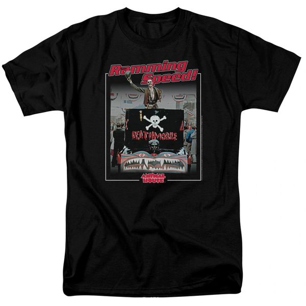 Animal House Ramming Speed Black Adult T-shirt
