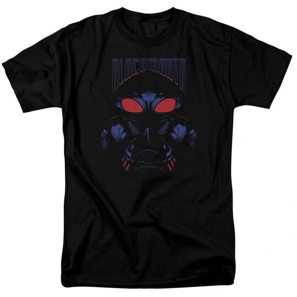 Aquaman Black Manta Black Short Sleeve Adult T-shirt