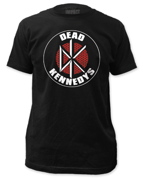 Dead Kennedys Brick Logo Black Short Sleeve Adult T-shirt