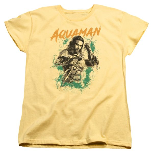 Aquaman Locals Only Banana Short Sleeve Women's T-shirt