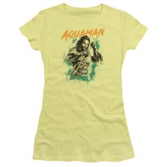 Aquaman Locals Only Banana Short Sleeve Junior T-shirt