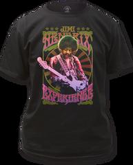 Jimi Hendrix Experience Black Short Sleeve Adult T-shirt
