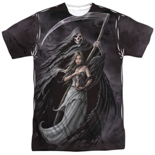 Annie Stokes Summon the Reaper White Short Sleeve Adult T-shirt