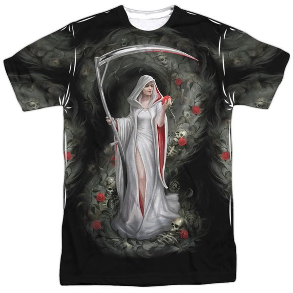 Annie Stokes Life Blood White Short Sleeve Adult T-shirt