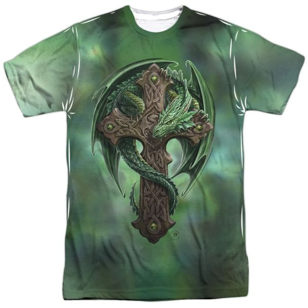 Annie Stokes Woodland Guardian White Short Sleeve Adult T-shirt
