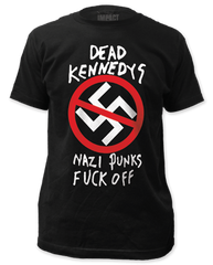 Dead Kennedys Nazi Punks F Off Adult T-shirt
