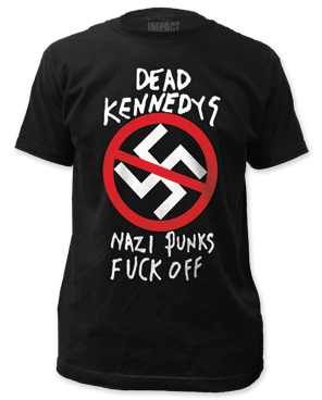 Dead Kennedys Nazi Punks F Off Black Short Sleeve Adult T-shirt