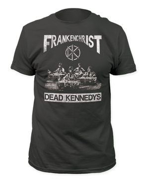 Dead Kennedys Frankenchrist Black Short Sleeve Adult T-shirt