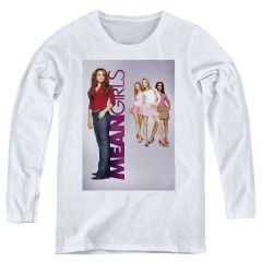 Mean Girls Poster Art White Women's Long Sleeve T-shirt