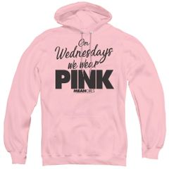 Mean Girls Pink Adult Pull Over Hoodie