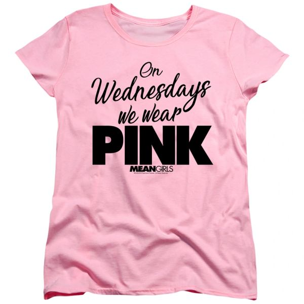 Mean Girls Pink Short Sleeve Women's T-shirt