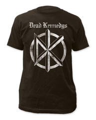 Dead Kennedys Distressed Old English Logo Adult T-shirt