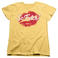 Mean Girls So Fetch Banana Short Sleeve Women's T-shirt