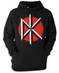 Dead Kennedys Logo Adult Pull-Over Hoodie