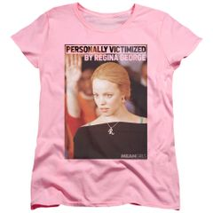 Mean Girls The Regina George Victim Pink Short Sleeve Women's T-shirt