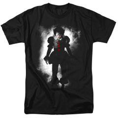 It Floater Black Short Sleeve Adult T-shirt