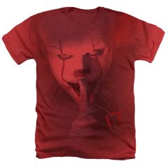It SHHH Red Short Sleeve Adult T-shirt