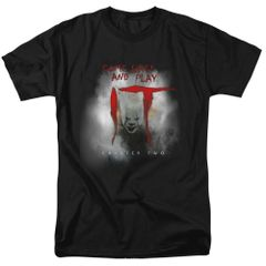 It Come Back and Play Black Short Sleeve Adult T-shirt