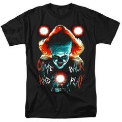 It Dead Lights Black Short Sleeve Adult T-shirt