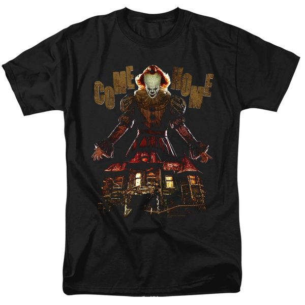 It Come Home Black Short Sleeve Adult T-shirt