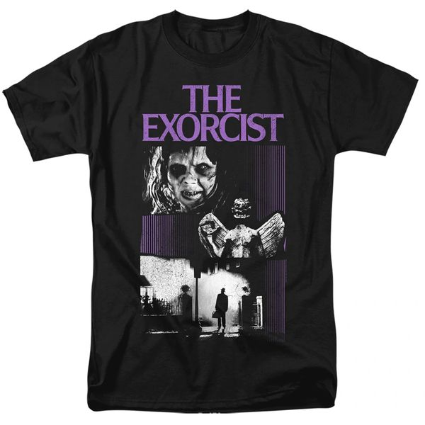 The Exorcist What an Excellent Day Black Short Sleeve Adult T-shirt