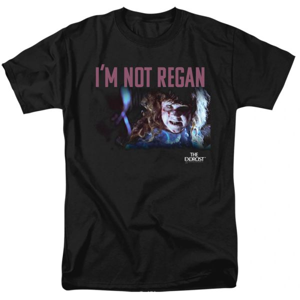 The Exorcist Your Mother Black Short Sleeve Adult T-shirt