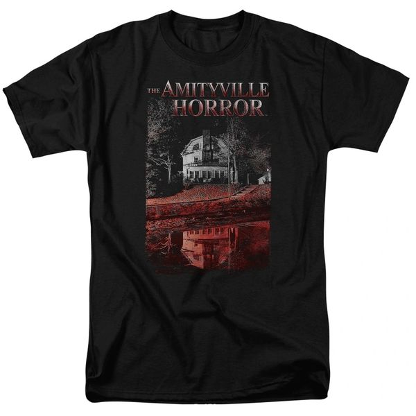 The Amityville Horror Cold Blood Black Short Sleeve Adult T-shirt