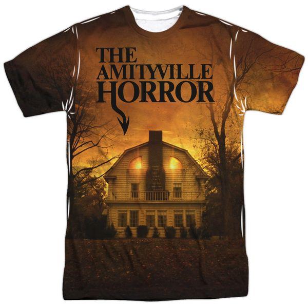 The Amityville Horror House White Short Sleeve Adult T-shirt