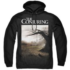 The Conjuring Poster Black Adult Pull Over Hoodie