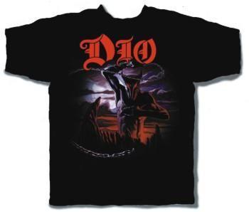 DIO Holy Diver Black Short Sleeve Adult T-shirt