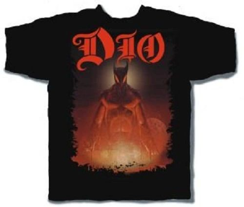 DIO Last in Line Black Short Sleeve Adult T-shirt