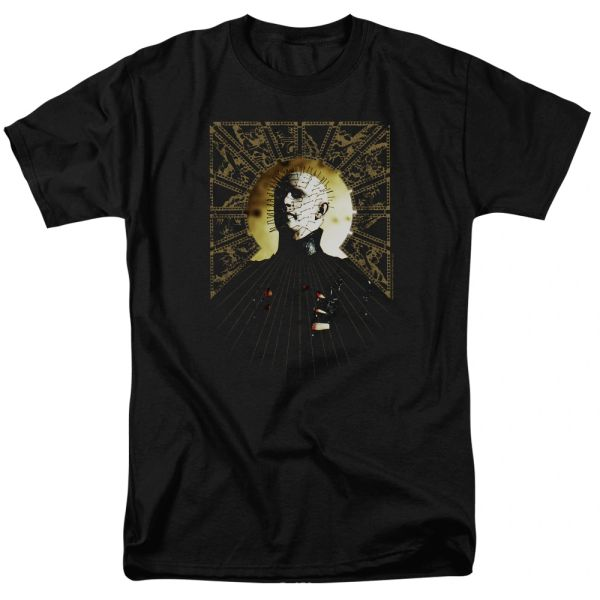 Hellraiser Black Short Sleeve Adult T-shirt
