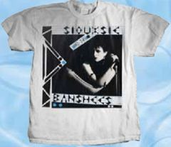 Siouxsie and the Banshees Zig Zag White Short Sleeve Adult T-shirt