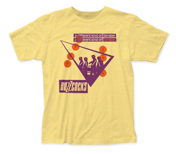 The Buzzcocks Tension Banana Short Sleeve Adult T-shirt