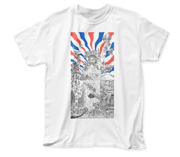 Dead Kennedys Bedtime for Democracy White Short Sleeve Adult T-shirt