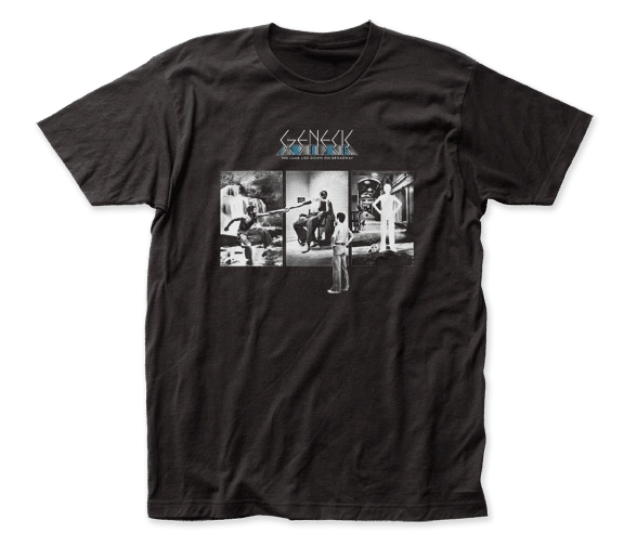 Genesis ...Down On Broadway Black Short Sleeve Adult T-shirt
