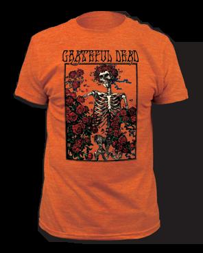 Grateful Dead Bertha Burnt Orange Short Sleeve Adult T-shirt