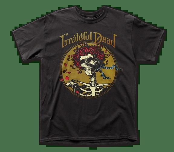 Grateful Dead Grateful Skull Black Short Sleeve Adult T-shirt