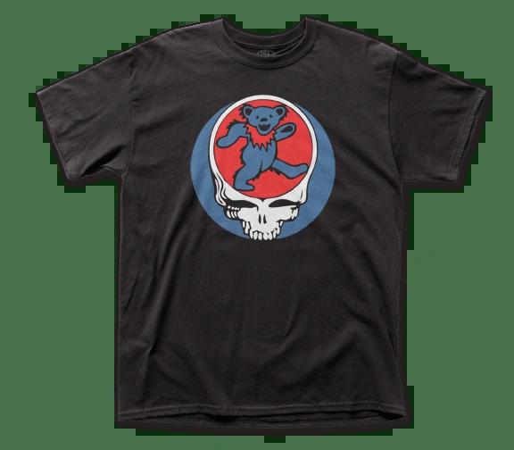 Grateful Dead Steal Your Bear Black Short Sleeve Adult T-shirt