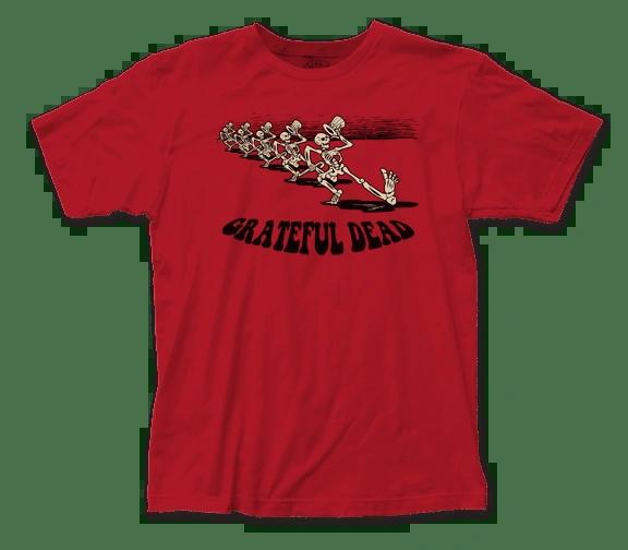 Grateful Dead Skeleton Parade Short Sleeve Adult T-shirt